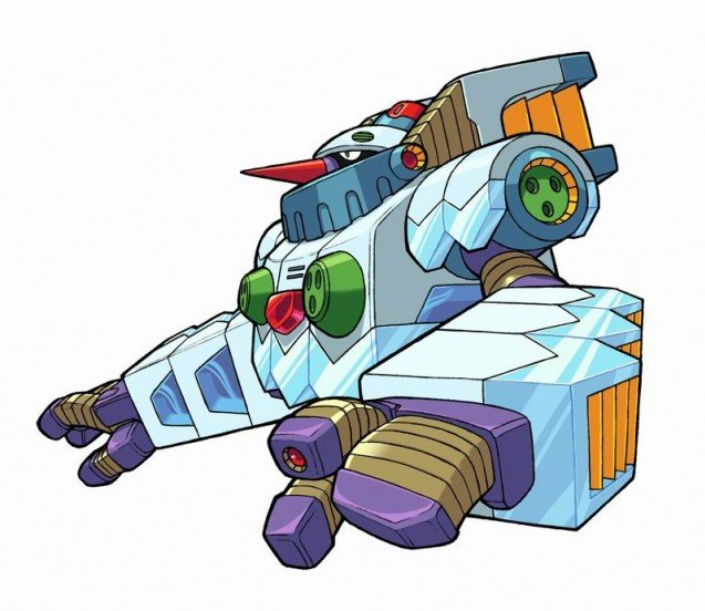Megaman X8 – Boss Fight – Avalance Yeti